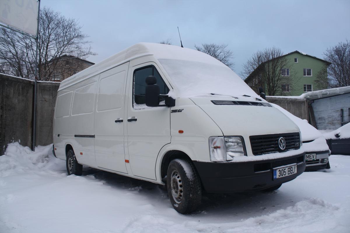 Valge Volkswagen LT Ümberehitus