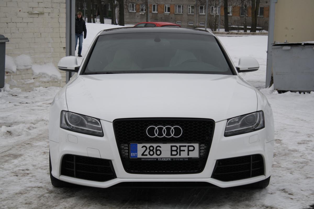 Преобразование Audi A5 в RS5