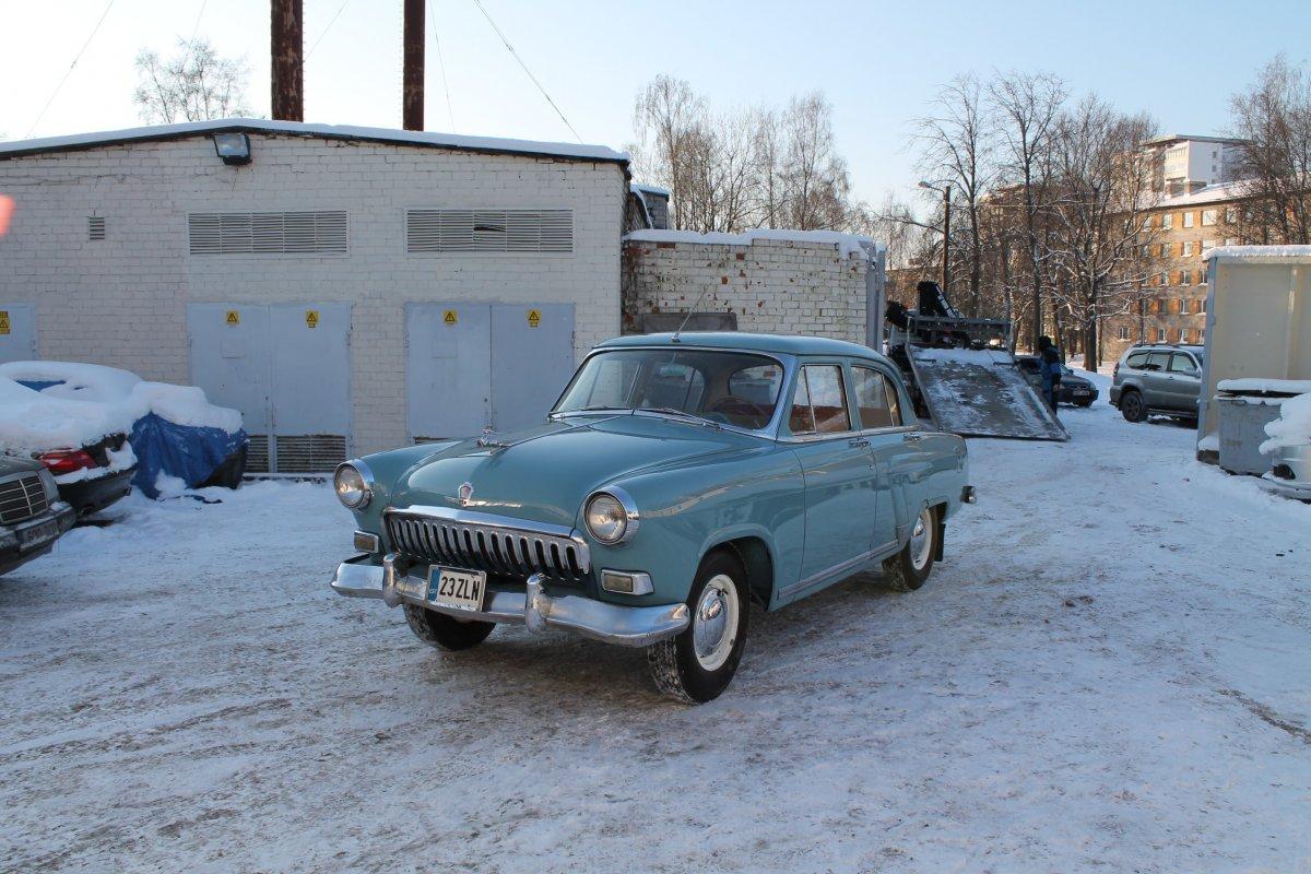 Реставрация Волга 21 - Шаг 4 (Отреставрирована)