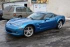 Azuursinise Corvette Täisülevärvimine
