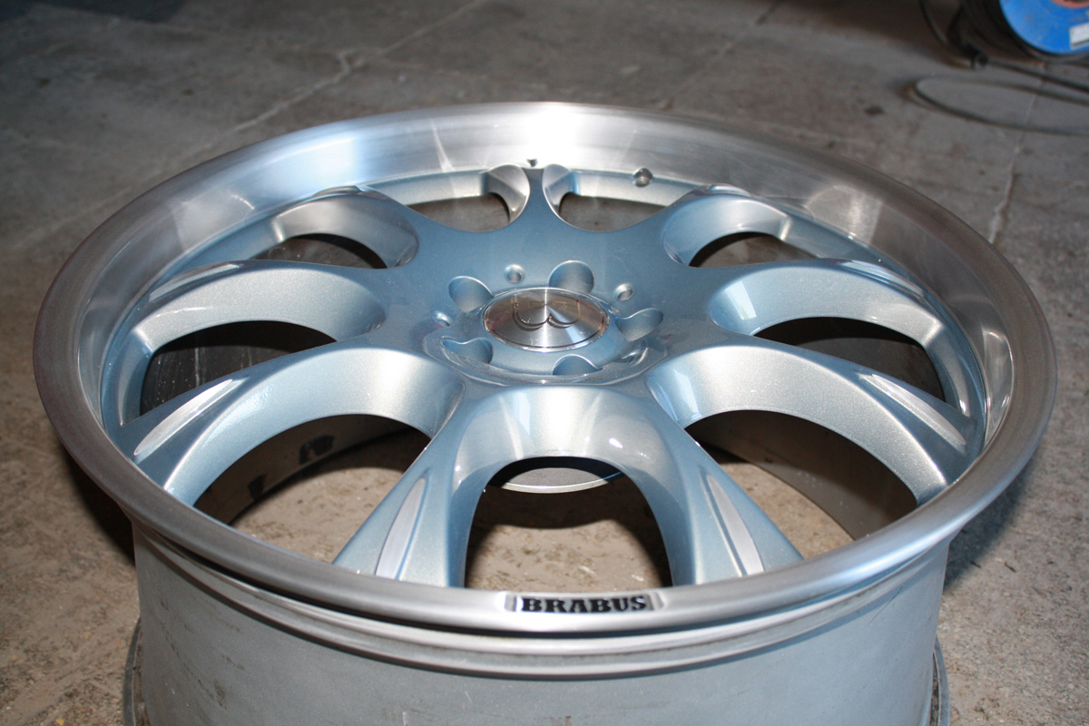 Brabus Rims Design Paint Job