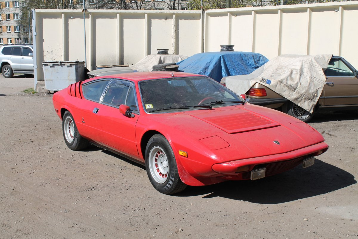 LAMBORGHINI Urraco P300 - Step 1 (Before Restoration)
