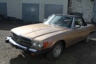 Mercedes SL 1973 - Step 4 (Restored)