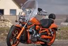 Orange Chopper  Complete Overpaint Job