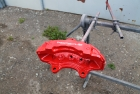 Porsche Brake Calipers Overpainting