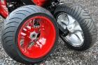 Red Chopper Rims Paint Job