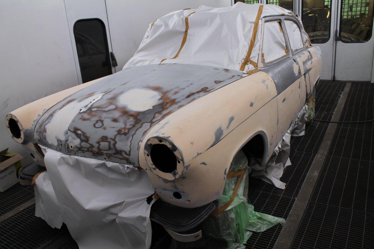 Volga 21 - Step 2 (Putty)