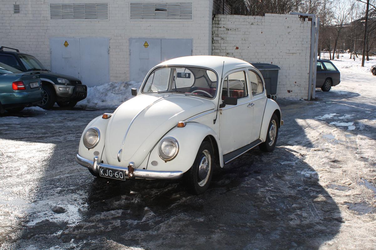 Vw Beetle 1966 - Samm 1 (Enne Restaureerimist)