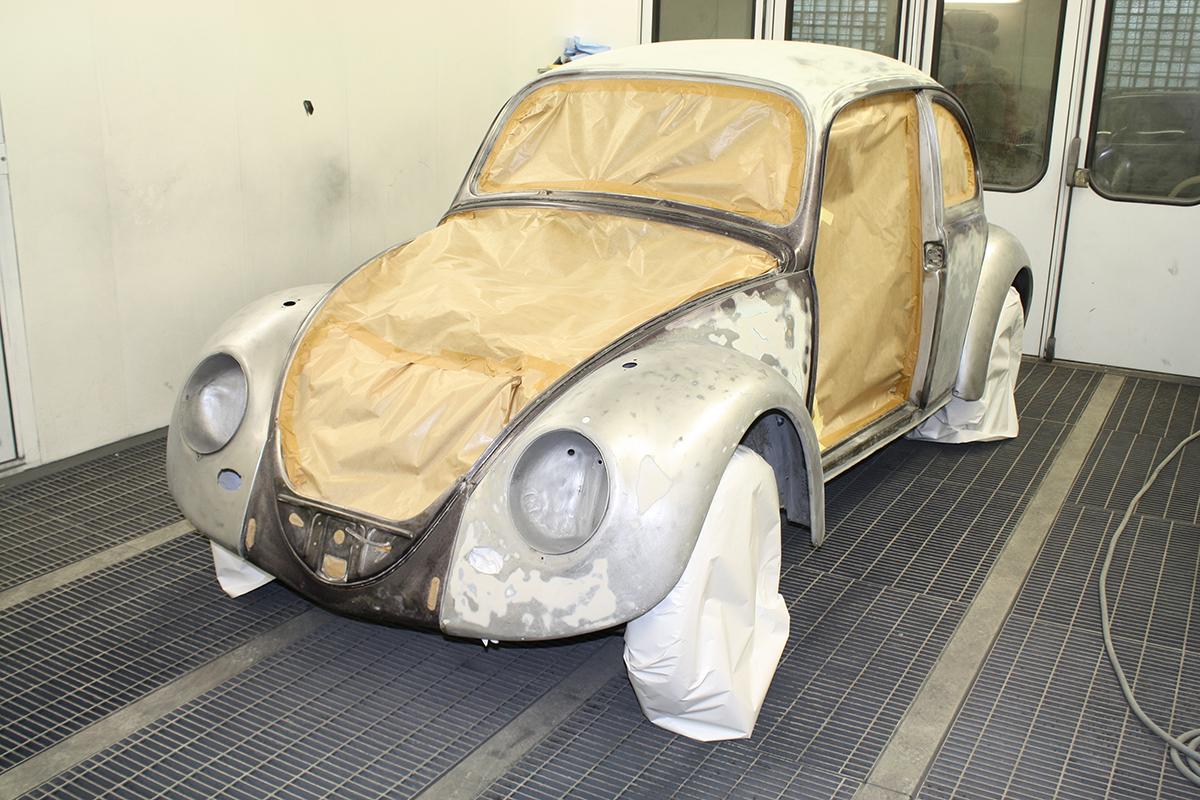 Vw Beetle 1966 - Samm 2 (Pahtel)