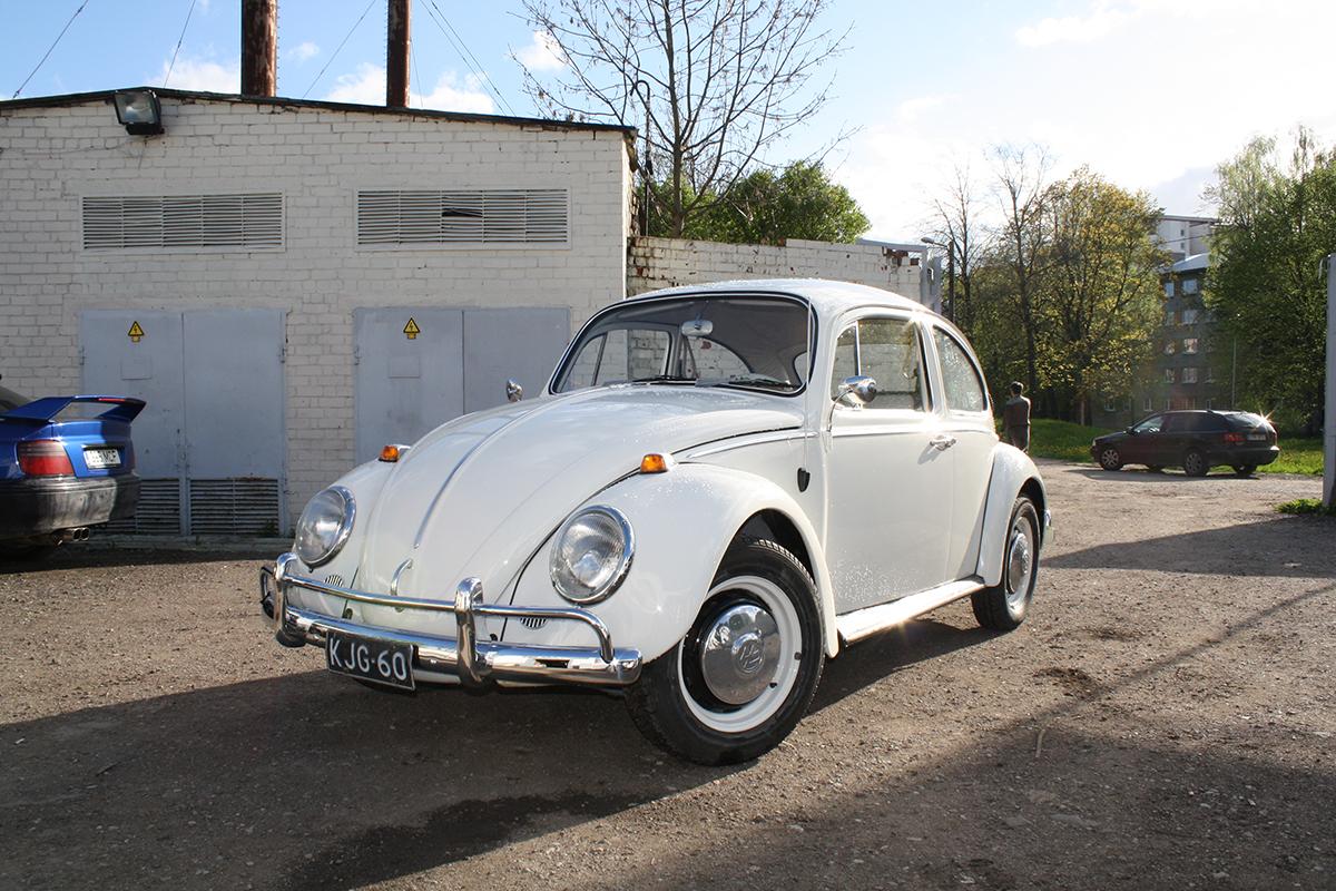 Vw Beetle 1966 - Step 4 (Restored)