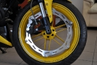 Yellow Chopper Rims Paint Job
